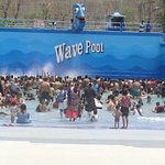 Largest wave pool ever we have enjoyed
