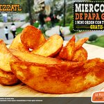 ¡Hoy van incluidas! 🍕 🍟♥  #Orizaba #Pizzatl #pizza #lapizzadeorizaba #consumelocal #orizabapueblomagico #PapaGajo