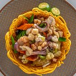 Our best-selling Seafood Crispy Canton