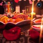 Кадр из Романтического ужина наших гостей