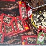 Chocolates con diferentes rellenos