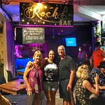 Romina, the Rock Bar owner, always provides a warm welcome along with cold cervezas and great cocktails.  January 2019