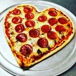 Valentine's Day Pizzas!! 😍