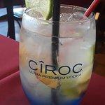The Diddy, cóctel de vodka con sabor suave.
