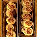 Sticky Buns awaiting for the oven!