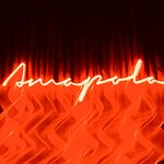 Amapolas Neon effect