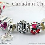 Canadian charms for your bracelet