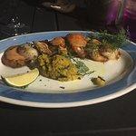 Delicious scallops