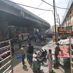 This is the picture of market which is just before reaching the top attraction of Ludhiana called Clock Tower .