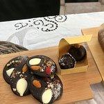 Mendiants de chocolate y trufas de Casildo