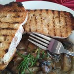 Mushrooms with garlic butter, amazing