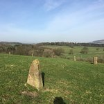 Part of the walk at The Tempest Standing stones.