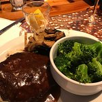 Chop Steak with gravy, mash potatoes and broccoli! Week night special for an hour.