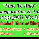 Call or email George now to book your transportation or tour. Our personal touch makes all the difference.