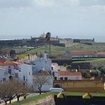 Forte de Santa Luzia in the distance
