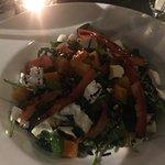 Butternut squash and lentil salad