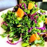 Sunny Kale-Quinoa Salad