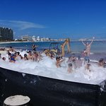 Beach Party at Club Med Cancun
