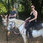 Ashley & Jasmine our horses