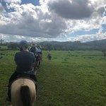 Riding through the plains