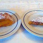 tarta de naranja y de almendra