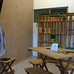 Mesas y venta de Harina PAN