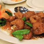 spicy honey shrimp