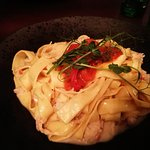 tagliatelle with lobster