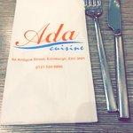 Bilde fra Ada Restaurant
