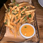 Truffle fries were delicious!