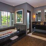 master bathroom villa tiga