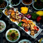 Mixed grilled at Fayrouz Lebanese Restaurant