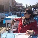 Sakin ve güneşli bir kış günü öğle vakti