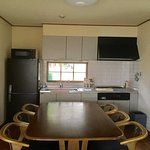 7-10名様用3Fメゾネットルーム(基本ベース約24畳+24畳+9畳のメゾネット) キッチンの写真例