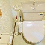 各客室のトイレの写真例