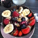 Bircher Muesli Bowl with Yoghurt and Fruit
