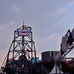 Trans Studio amusement park (Cloudy).