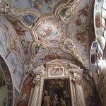 Affreschi sul soffitto della Chiesa