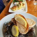 Mussels & Fish cakes
