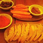 sweet potato and roasted pumpkin - tasetless