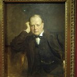 Winston Churchill by Sir James Guthrie