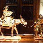 Ceramic of Mary & Joseph with Baby Jesus