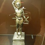 Saint Sebastian in silver and gold