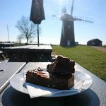 Cake with Horsey Windpump in the background