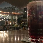 Hibiscus Mojito and Setting View