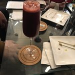 Blueberry mimosa (my favorite)