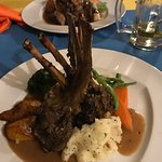 Rack of Lamb - Best tasting lamb that I have ever had.