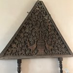 This is a huge piece made of wood. nearly 1000 years old