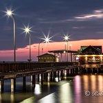 Fairhope Pier just after sunset