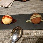 POSTRE! Mochis de chocolate (y té matcha) y cheesecake. No te los puedes perder.